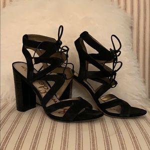Sam Edelman tie up heels
